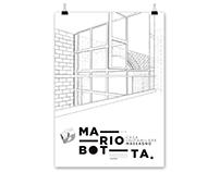 Mario Botta Poster