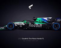2018 Scuderia Toro Rosso Honda F1
