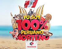Yo soy 100% peruano norteño / Cementos Pacasmayo