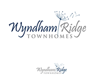 Logo design for Wyndham Ridge Townhomes