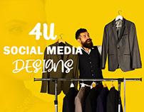 4u social media design