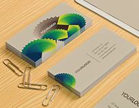 Green Pattern Stationery