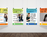 Healthy Relationships Poster campaign