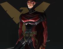 Cyberpunk Robin Concept - (Tim Drake)