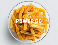 Enjoy sweet, POWERGO