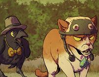 Crow & Cat