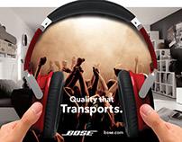 Headphones AD Campaign