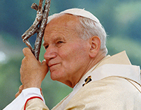 Logo, Print, Card and Ornament for Saint John Paul II