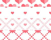 Photoshop Heart Patterns