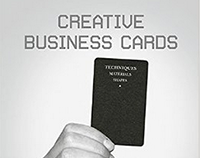 Copy featured in 'Creative Business Cards' book (2014)