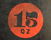 Restaurant Branding: 15oz