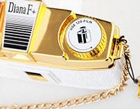 Lomography - Gold Edition Cameras