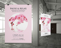 Posters for L'AQUA Day Spa