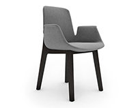 Free 3D Model: Ventura chair by Poliform