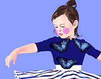 🦋 Blue Butterfly