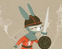 Momonga Mai Card : Lapin Chevalier