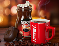 3D Product Visualization - Nescafe Classic