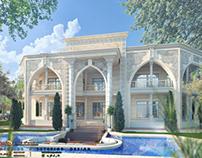 New classic villa