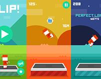 Flat Iphone Game Design