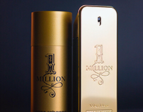 1 Million Perfume Product Photography