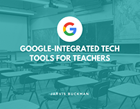 Jarvis Buckman | Tech Tools For Teachers