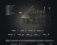 Concert Grand Piano User Interface Design