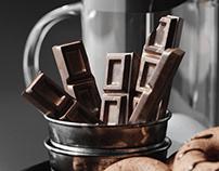 Coffee set 3d model