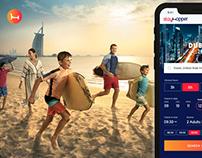 Stayhopper Mobile App UI