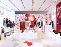 (RED) / Pop-up Store