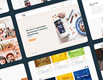 Recettes en pot - Website redesign