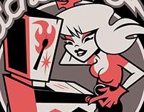 Matchstick Pinball: Logo