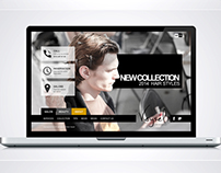 Salon Veysel Web Site Design