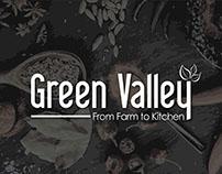 Green Valley Logo, Packaging & Branding Design