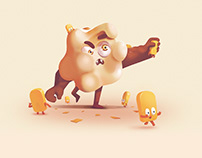 Popcorn Monster
