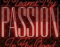All Passion - Illustrated cocktail artwork