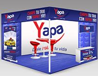 Financiera: La Yapa, artes publicitarios.