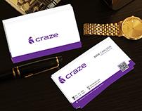Craze Business Card