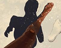 Sun kissed | illustration set