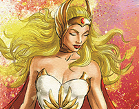 She-Ra Unchained fine art print.