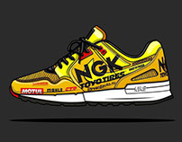 Sneakers livery