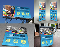 Print Shop Advertising Bundle Template