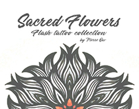Sacred Flowers - Flash Tattoo collection