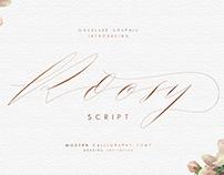 Roosy Script font