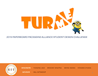 """Turme"" Minion Toy Package Design"