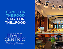 Hyatt Centric Digital Ads