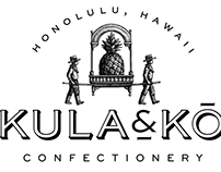 Kula & Kō Confectionery Logo Created by Steven Noble