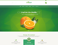 FreshMart - Organic Food Template