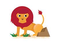 Jungle Animal Stickers