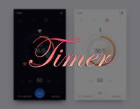 Timer UI Design