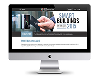 Smart Buildings - Web design template
